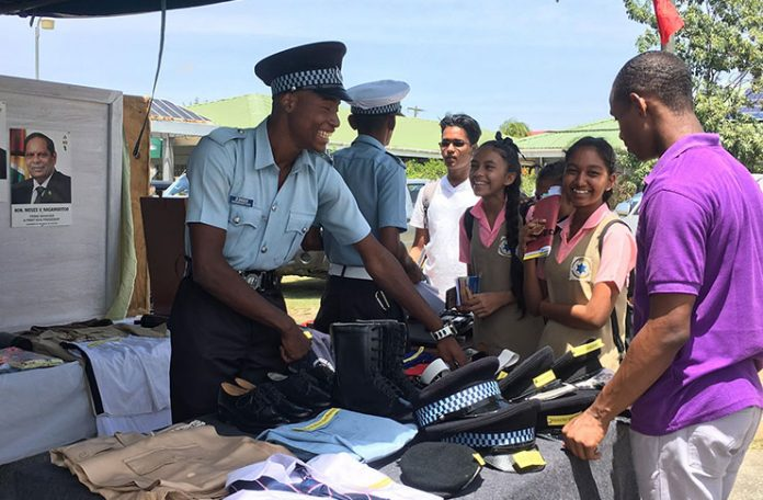 UG Berbice Campus Career Day fair attracts hund...